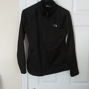 The North face zippered jacket
